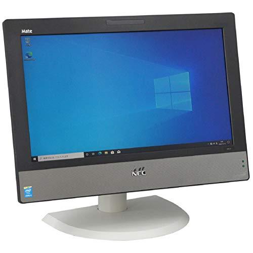 中古パソコン Windows10 一体型 一年保証 NEC MK30MG-J Core i5 4590S 3.0(~最大3.7)GHz MEM:8GB HDD:500GB DVD-ROM 20インチワイド液晶 HD+ 無線LAN:非搭載 Win10Pro64Bit キーボード・マウス付属