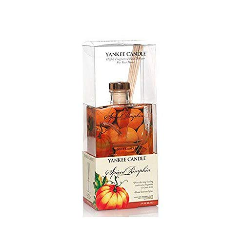 1166323 Spiced Pumpkin Signature Reed Diffuser by Yankee Candle 3 oz