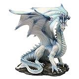 Nemesis Now Grawlbane Figurine en résine Blanc Taille Unique 20 cm