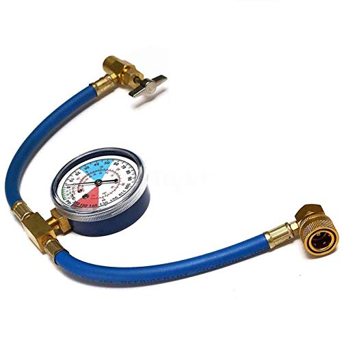 Super1Six Auto Klimaanlage AC R134A Kältemittelschlauch Manometer Kits 600~300 psi