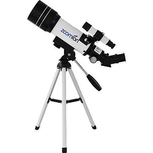Zoomion Pioneer 70/360 AZ Telescopio Set para niños y Adultos con Muchos Accesorios para la observación de Planetas o Animales