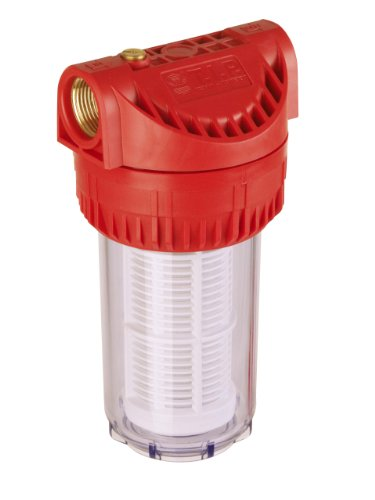 T.I.P. Pre-Filter for Garden Pumps and Booster Pumps 17.8 cm (5 inch), Water Flow up to 7000 l/h