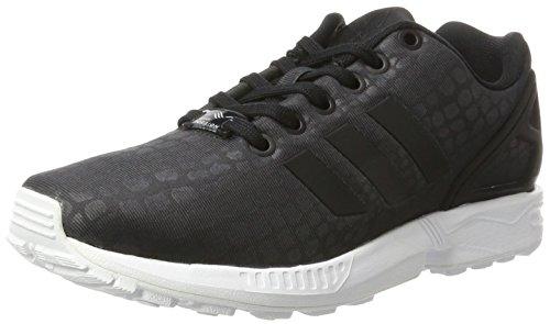 adidas ZX Flux, Scarpe da Ginnastica Basse Donna, Nero (Core Black/Core Black/Footwear White), 38 2/3 EU
