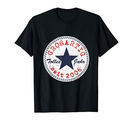 14. Geburtstag Geschenk Mädchen Junge Großartig Seit 2006 T-Shirt