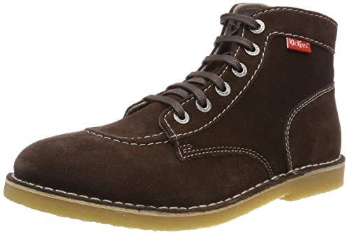 Kickers Orilegend, Zapatos de Cordones Derby para Hombre, Marrón (Marron Fonce Perm 92), 43 EU