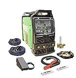 2021 PowerTIG 325EXT 320amp DIGITAL AC/DC TIG Stick Pulse welder 220 Volt Inverter-Based AC DC