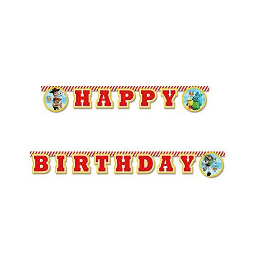 """Procos 26974 """" Happy Birthday"""" Toy Story 4, Multicolor, Taglia U"""