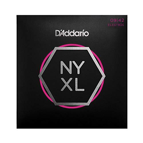 Cuerdas para Guitarra Eléctrica d'Addario NYXL0942 Nickel Wound, Super Light, 9-42