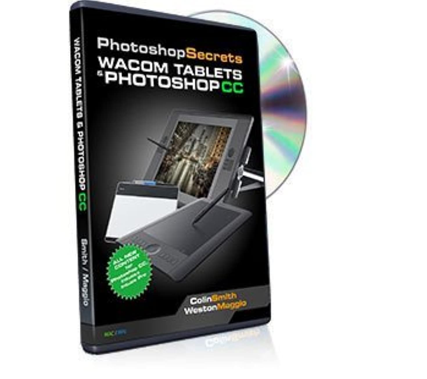 Learning Wacom Tablets and Photoshop CC Tutorial DVD - The best Training Video to Learn your Tablet & Photoshop CC by Colin Smith & Weston Maggio