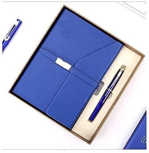 Cuaderno a granel clásico tapa dura 5,7 x 8 ,2 pulgadas, 120 g/m² de papel grueso para oficina, hogar, escuela, negocios, notas de negocios, A5, diario con forro de papel grueso (color azul)