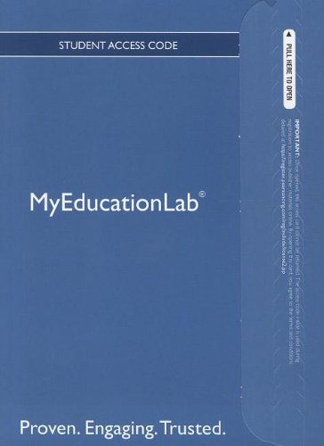 NEW MyEducationLab with Pearson eText -- Standalone Access Card -- for The Foundations of Dual Language Instruction (mye