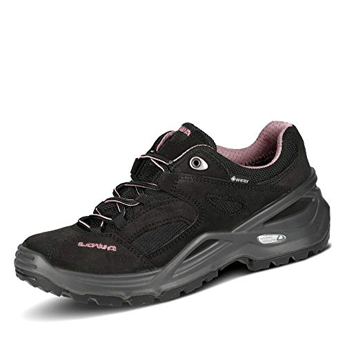 Lowa SIRKOS GTX Ws Damen Wanderschuh Tracking Outdoor Goretex, Schuhgröße:41.5 EU