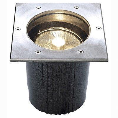 Dasar® ES111 Lampe d'extérieur encastrable au sol avec cache carré Classe d'efficacité énergétique : E - A++