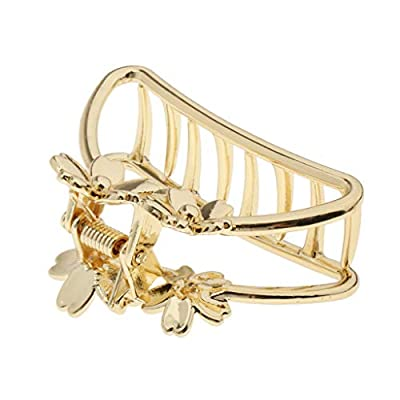 Hellery Damen Metall Gold
