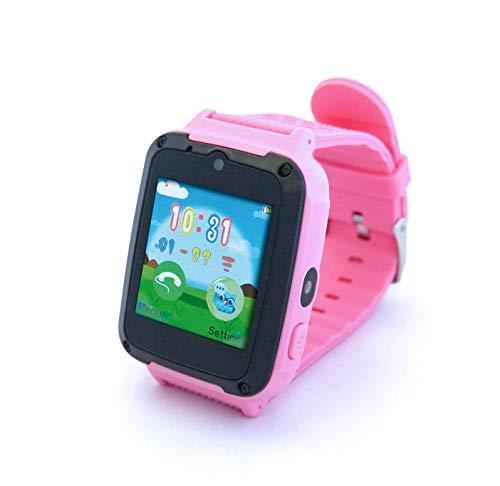 Inovalley Reloj Inteligente Multifunción Android & iOS con Tarjeta SIM Todos los Operadores MCKID Rosa