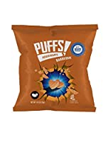 Best Select, Puffs Potato Hearts BBQ Snacks. 36 bags (certified Kosher) (hearts BBQ)