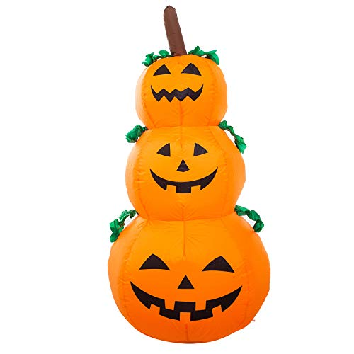 Athoinsu 4ft Lighted Halloween Pumpkin Lantern...