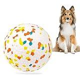 Hundeball,Hundespielzeug Ball,hundespielzeug unzerstörbar,hundespielzeug Intelligenz, Hundespielzeug Ø 7.5cm,Ideal für Große & Kleine Hunde