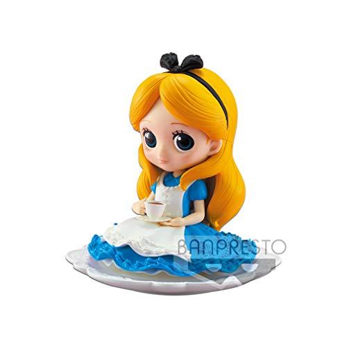 Figurine de Collection Disney Q Posket Sugirly Alice 9 cm, 85133, Multicolore