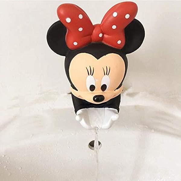 S P 市场可爱水龙头延长器节水卡通水龙头延长器工具帮助儿童洗手米奇红