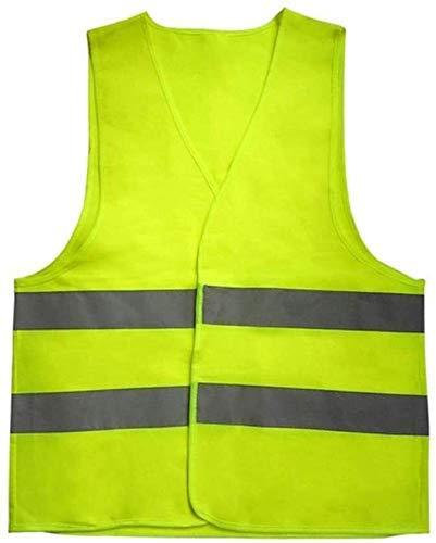 Multifunktionale reflektierende Kleidung Weste Reflektierende Sicherheit Reflektierende Leuchtstoffweste Gelb Orange Farbe im Freien Sicherheitsbekleidung Lauf Ventilate Sicher High Visibility, Reflek