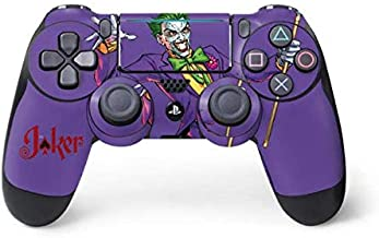 Skinit Decal Gaming Skin for PS4 Pro/Slim Controller - Officially Licensed Warner Bros Surprise - The Joker Design