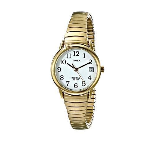 Timex Dam armbandsur silver rostfritt stål armband Guldton