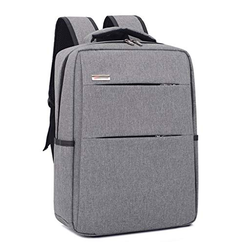 Travel Laptop Backpack School Backpacks Port Business Computer Bag Water Resistant Bookbag for College Office Daypacks Men Women (Color : Gray)