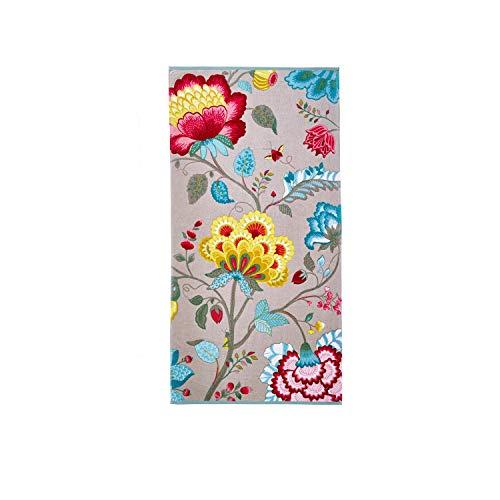 Pip Floral Fantasy Handtuch-Serie Khaki, Größe Frottee:Duschtuch 70 x 140 cm