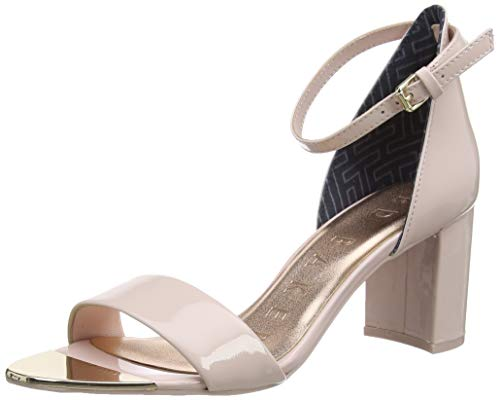 Ted Baker Sheahp, Sandali con Tacco Donna, Nude/Pink, 41 EU