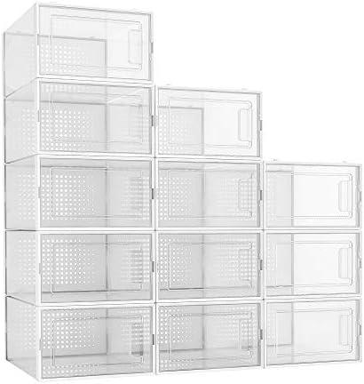 Transparent shoes box