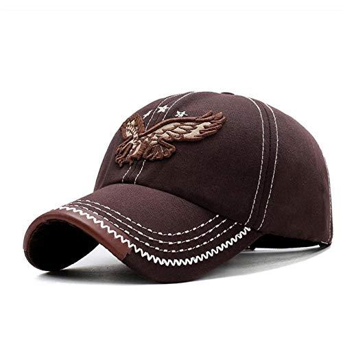 Gorra de béisbol con bordado de águila Gorra masculina Hip Hop plana a lo largo de sombreros Snapback Gorra de béisbol Hombres Mujeres