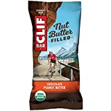 CLIF Nut Butter Filled - Organic Snack Bars - Chocolate Peanut Butter - (1.76 Ounce Protein Snack Bars, 12 Count)
