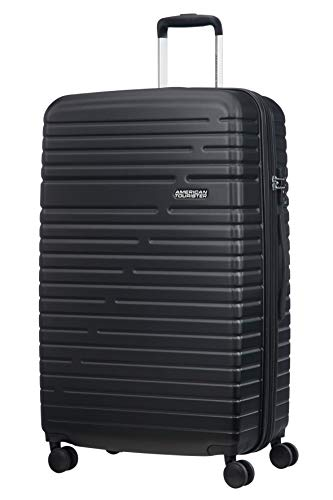 American Tourister Aero Racer Spinner 79 Expandable - 4.6 Kg Bagaglio a Mano 115 Liters, Nero (Jet Black)