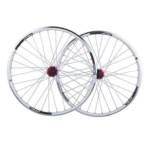YBNB Juego De Ruedas De Bicicleta 26 Pulgadas De Doble Capa De Aleación De Aluminio MTB Ruedas De Ciclismo Freno De Disco De Liberación Rápida 7 8 9 10 Velocidades