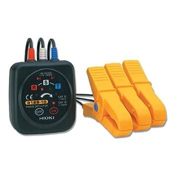 Hioki 3129-10 PHASE DETECTOR Phase Rotation Meter