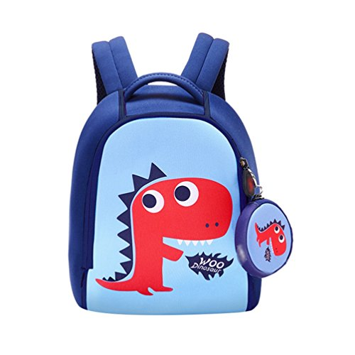 Tookang Anti-Verlust Backpack Kinder Rucksack Tasche Kindergarten Karikatur Hase Schultasche Für 1-3 Jährige Jungen Und Mädchen