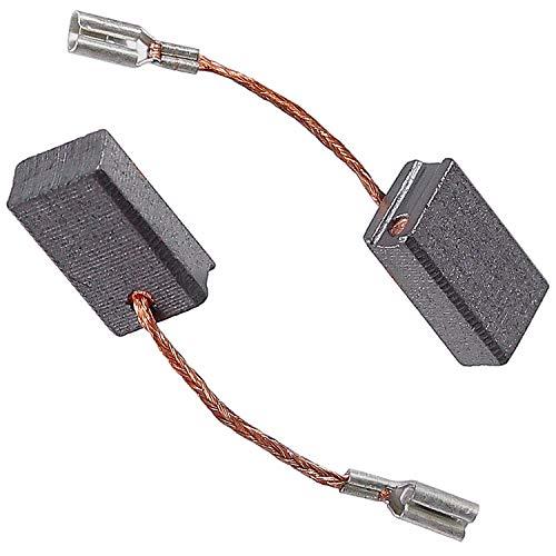Kohlebürsten Kohlen Motorkohlen für Bosch GWS 15-125 CIE 6x10mm 1607000V37