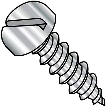 6-18X1 3 4 Slotted Pan Self Type security A Threaded Screw Courier shipping free Tapping Fully