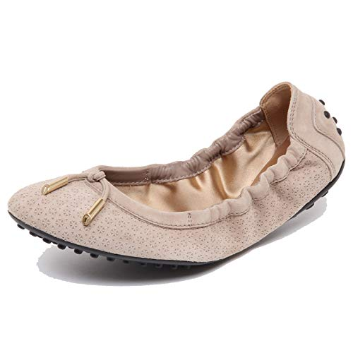 Tod's F3900 Ballerina Donna beige Scarpe Shoe Woman [36]