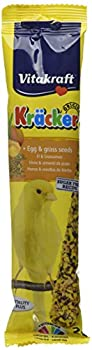 Vitakraft Kracker Nourriture pour Oiseaux canari Egg-Grass Graines, Lot de 7