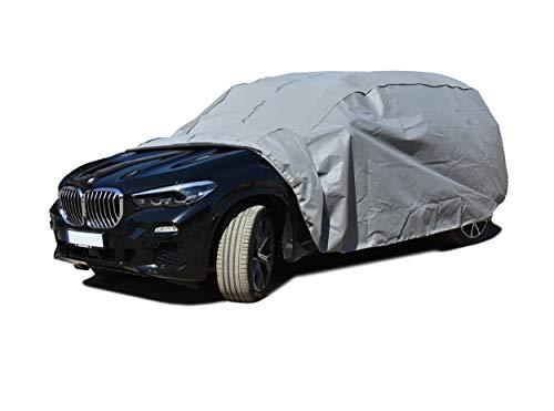 Autoabdeckung geeignet für BMW X5 G05 Schutzplane Abdeckung Vollgarage für das Auto atmungsaktiv - Autoplane XL SUV
