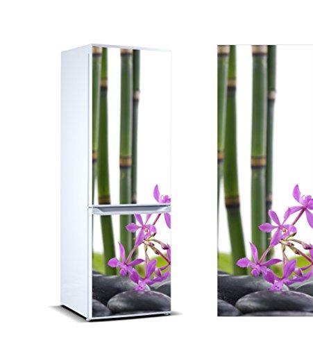 Pegatinas 3D Vinilo Frigorífico Bambú