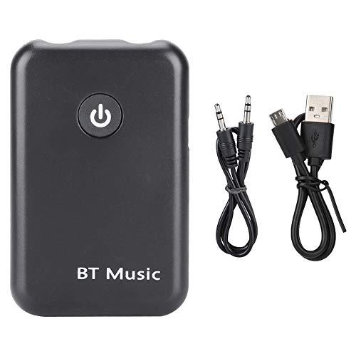 Soapow 2 en 1 Receptor Transmisor Bluetooth 3.5mm Estéreo Música Cable Dongle V4. 2 Adaptador para TV