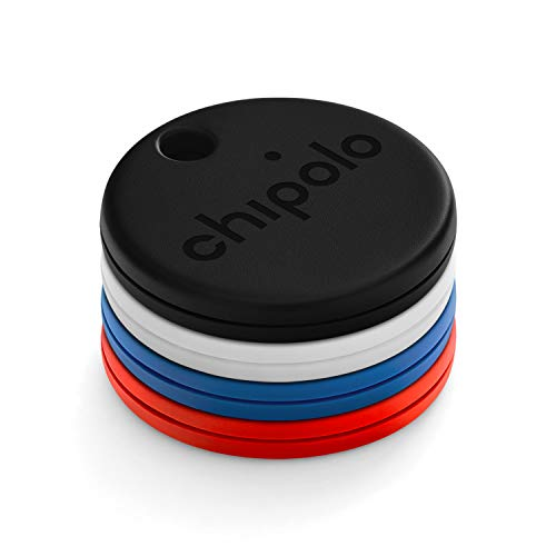 Chipolo One 4-Pack (2020) - Localizador de Llaves Bluetooth más Potente y Resistente al Agua