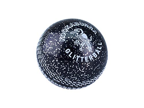 Kookaburra Kids' Supercoach Glitter Ball, Black, One Size