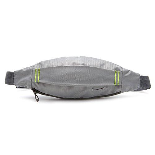 qingqingR Unisex Sport Laufen Radfahren Joggen Kopfhörer Hüftgurt Pack Tasche Tasche