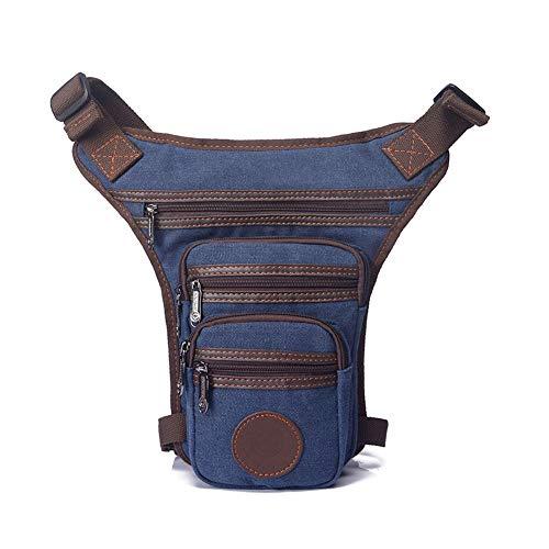 AGBFJY sporttassen slijtvast canvas multifunctionele verstelbare riem opslag duurzaam enkele schouder vintage taille tas casual