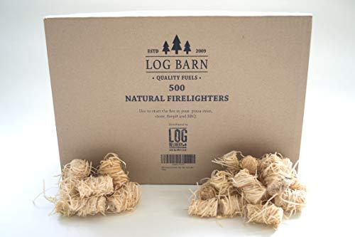 Log-Delivery -  500 natürliche