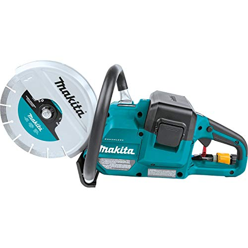 "Makita XEC01Z 18V X2 (36V) LXT Lithium-Ion Brushless Cordless 9"" Power Cutter, with AFT, Electric Brake, Tool Only"